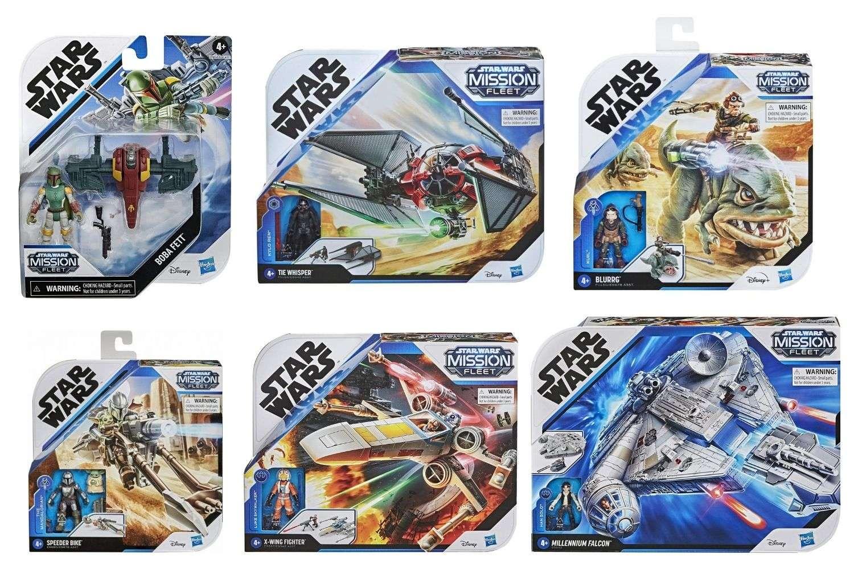 Star Wars Mission Fleet Sets checklist