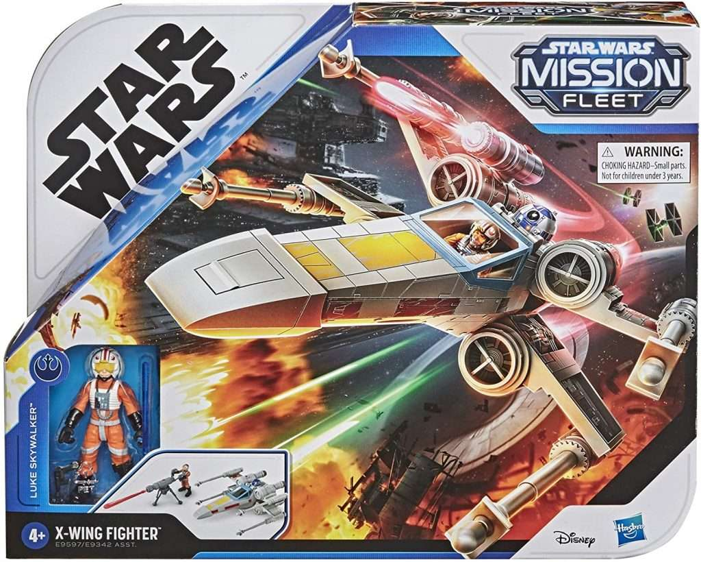 Luke Skywalker X-Wing Fighter Mission Fleet