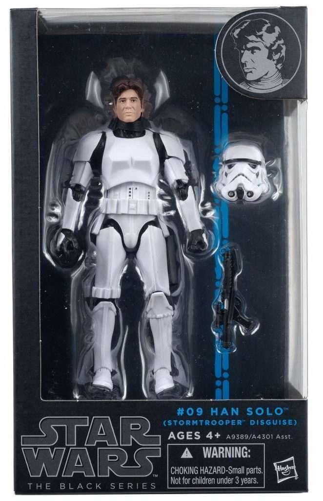 Black Series Han Solo Stormrooper Disguise