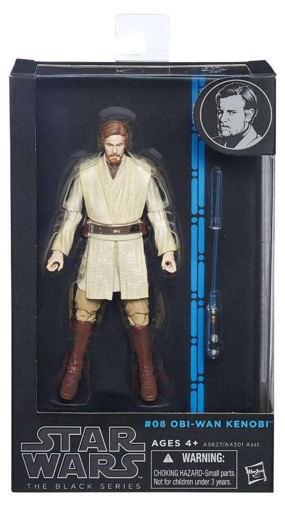 Black Series Obi-Wan Kenobi (blue line)