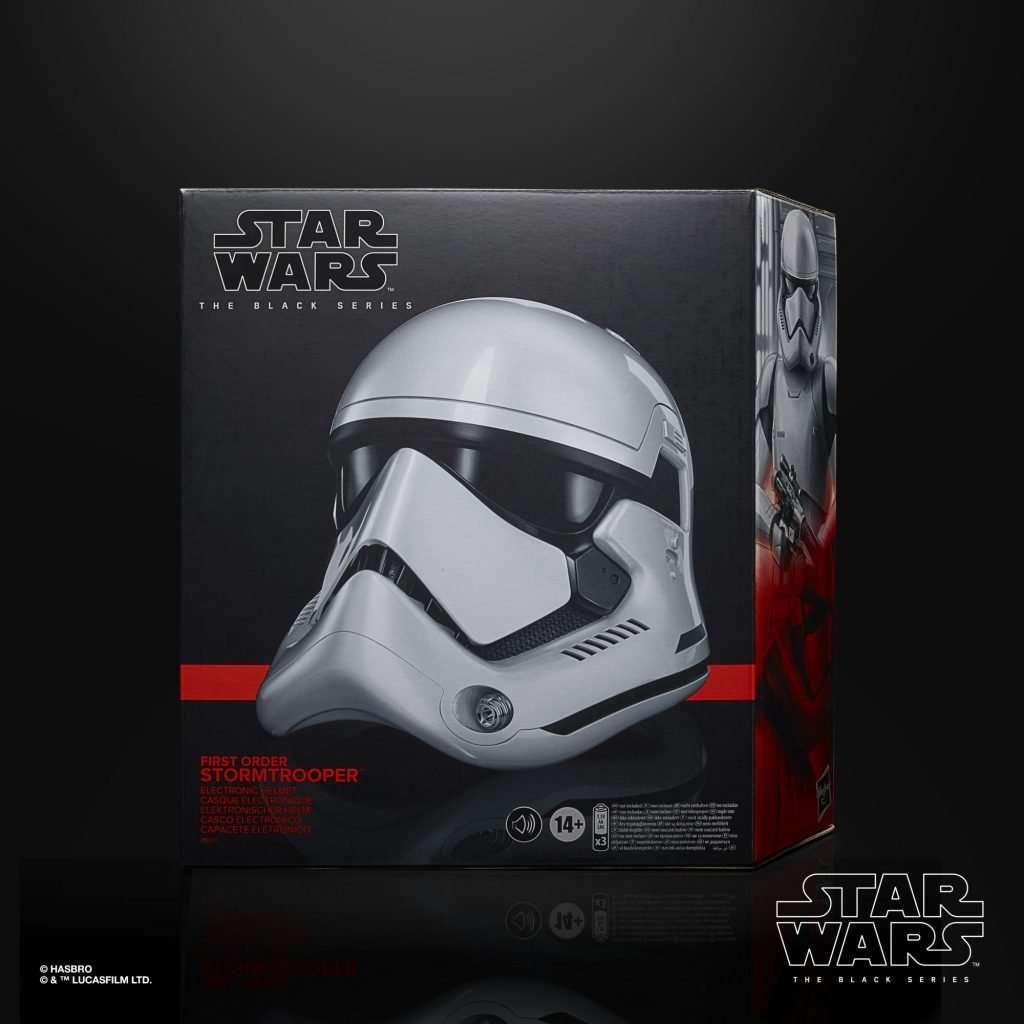 Black Series First Order Stormtrooper Helmet box
