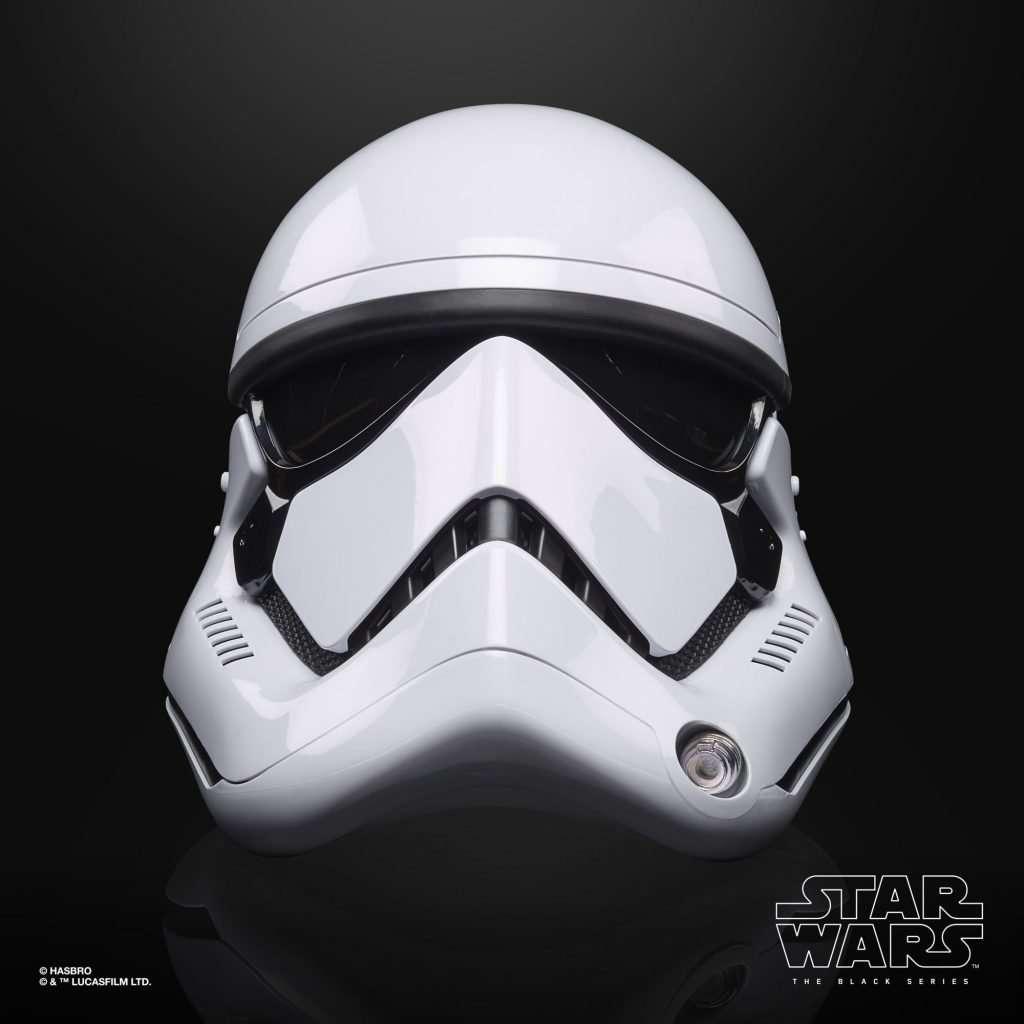 Black Series First Order Stormtrooper Helmet front