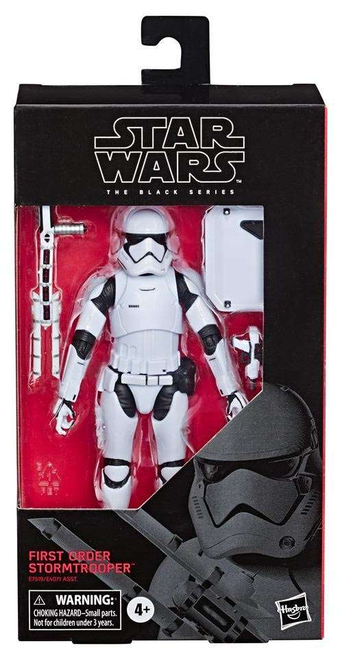 Black Series First Order Stormtrooper (Riot Control)