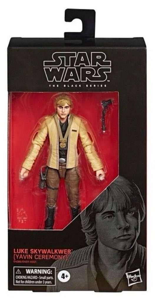 Black Series Luke Skywalker Yavin Ceremony