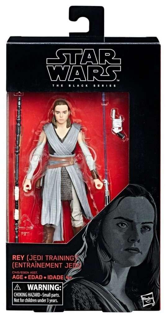 Black Series Rey Jedi Training