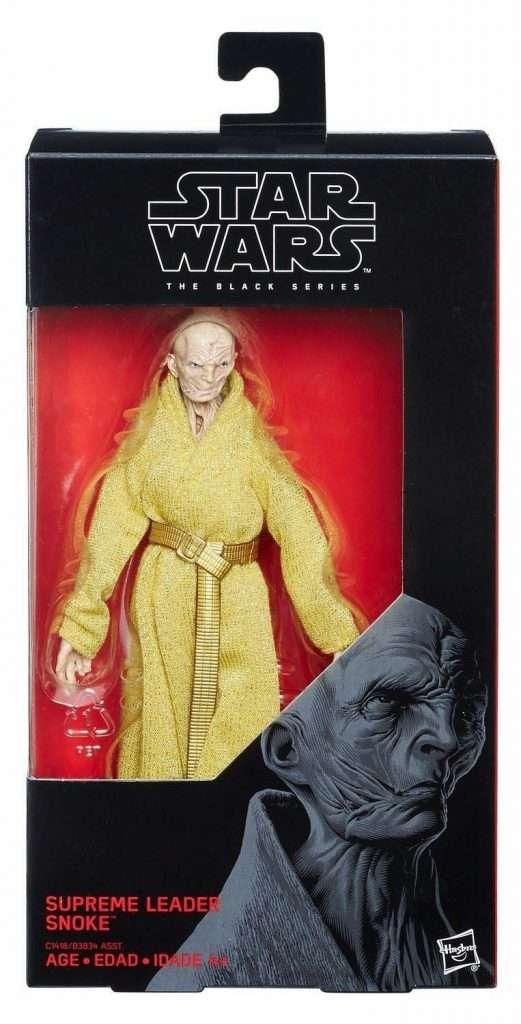 Black Series Supreme Leader Snoke