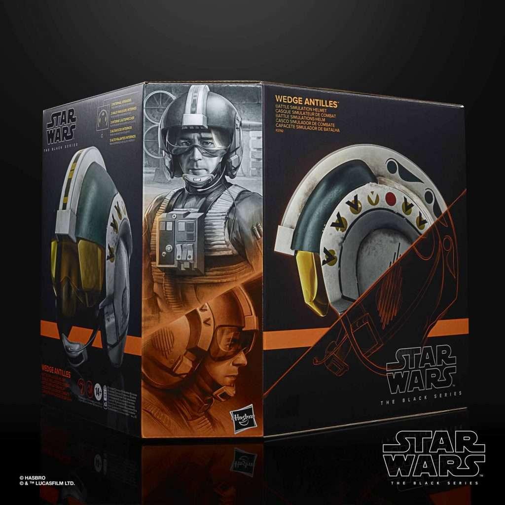 Black Series Wedge Antilles Helmet