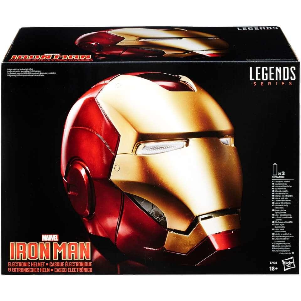 Legends Series Iron Man Helmet
