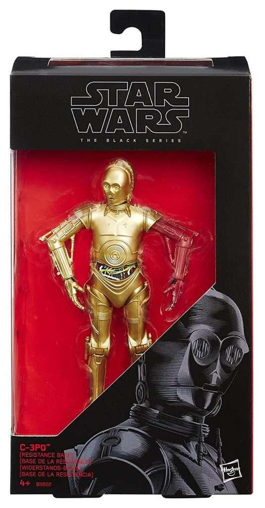 Black Series C-3PO (red arm)
