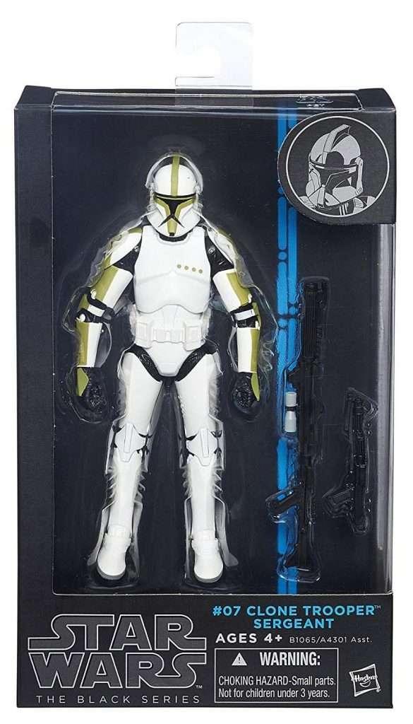 Black Series Clone Trooper Sergeant