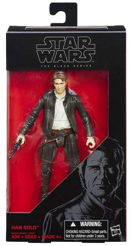 Black Series Han Solo The Force Awakens)