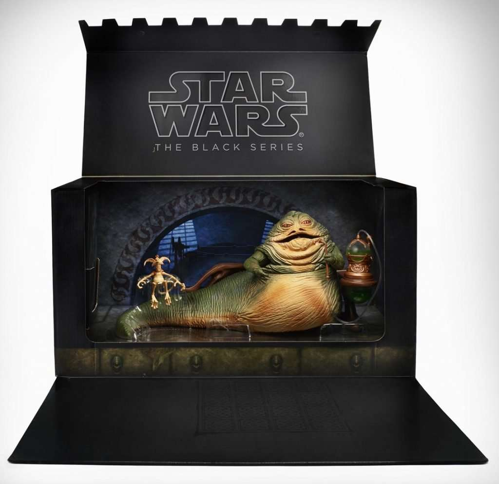Black Series Jabba The Hutt Throne Room SDCC exclusive