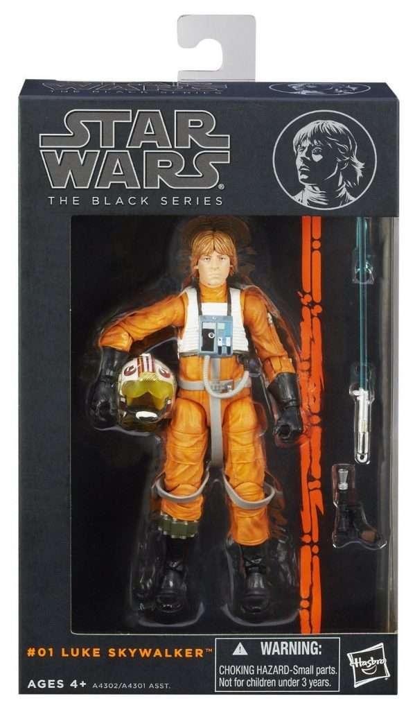 Black Series Luke Skywalker X-Wing Pilot