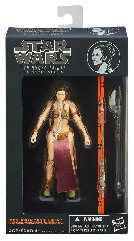 Black Series Princess Leia Organa (slave outfit)