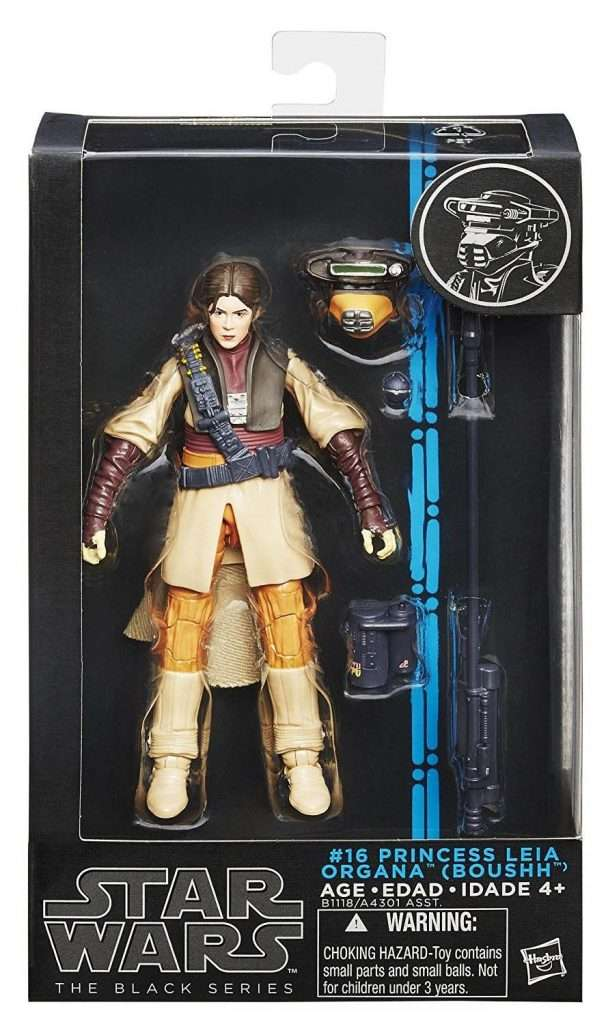 Black Series Princess Leia Organa Boushh Disguise