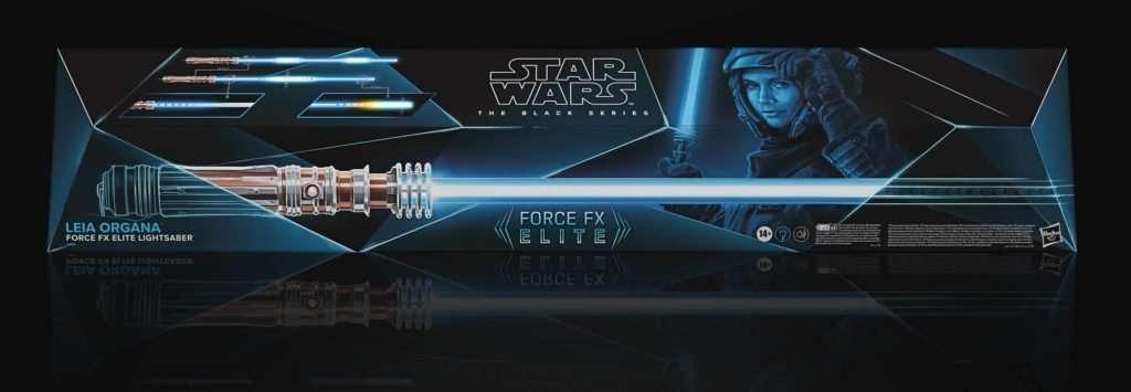 Black Series Force FX Leia Organa lightsaber
