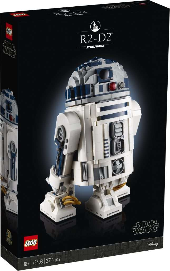 LEGO Star Wars buildable R2-D2 box