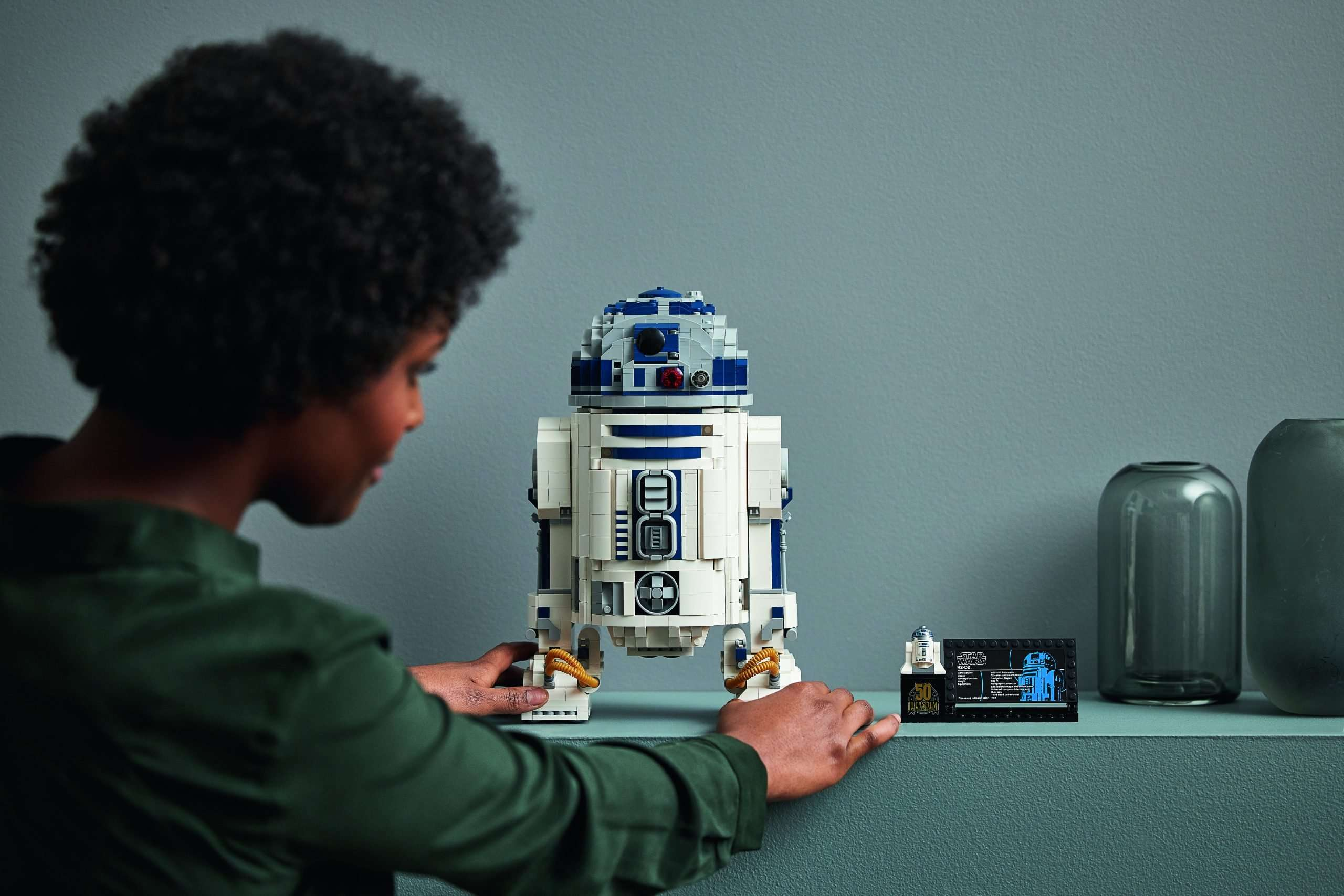 The LEGO Group Announce The Biggest Ever Buildable R2-D2