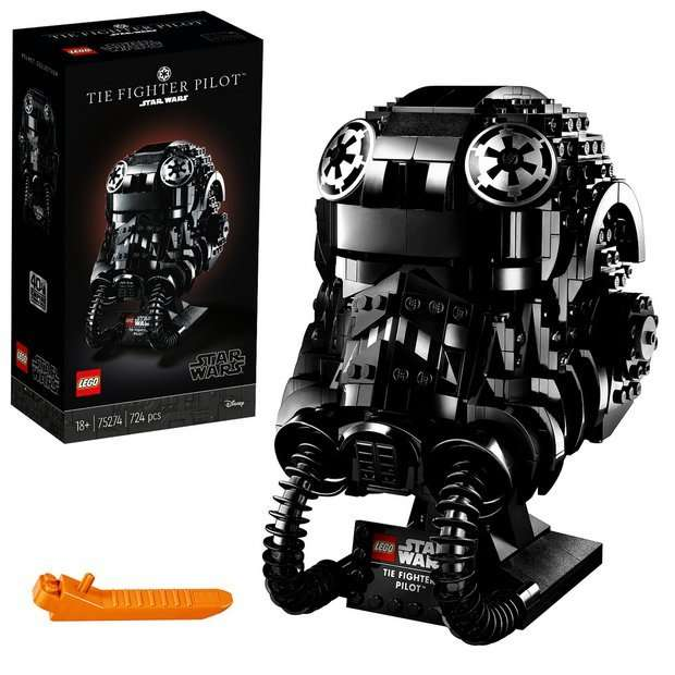 75274: TIE Fighter Pilot Helmet