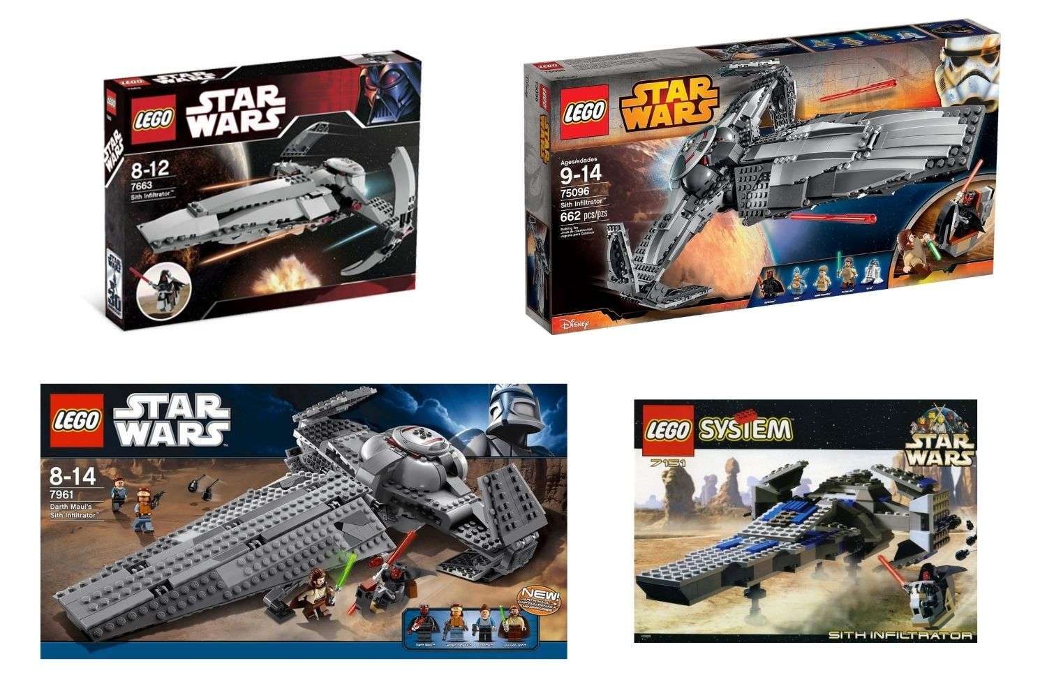 LEGO Star Wars Sith Infiltrator Sets