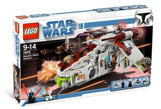 7676 - Republic Attack Gunship