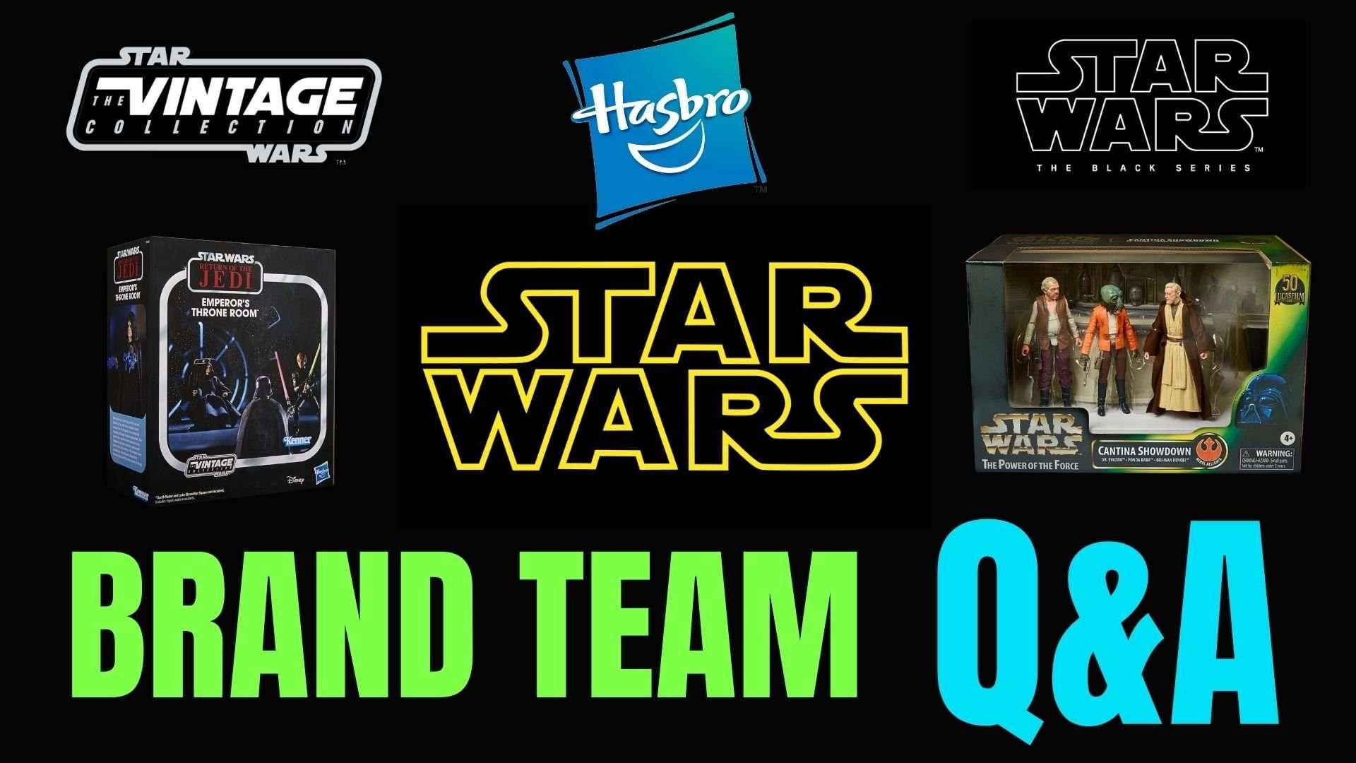 Hasbro Star Wars brand team Q&A
