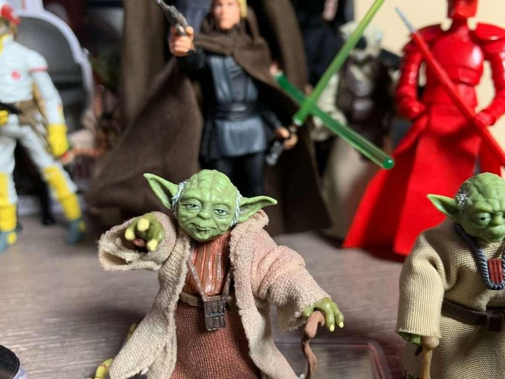 Custom Yoda figure