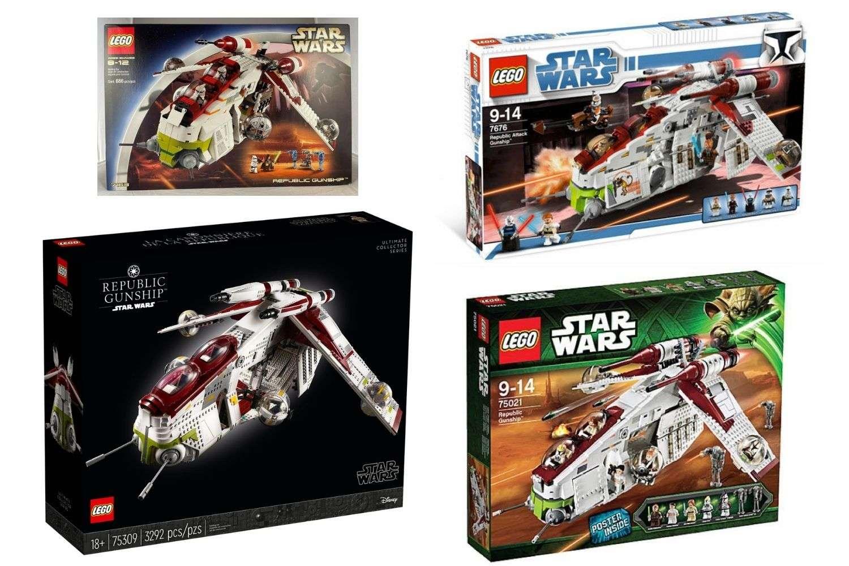 LEGO Star Wars Republic Gunship sets