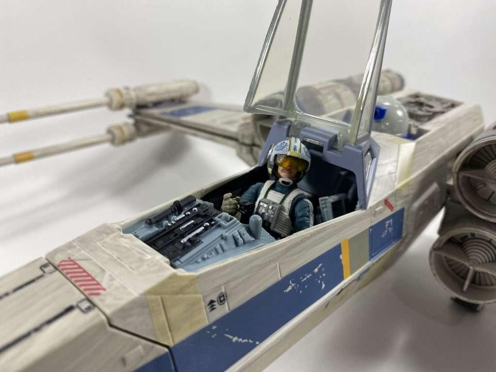 Antoc Merrick's X-Wing Fighter