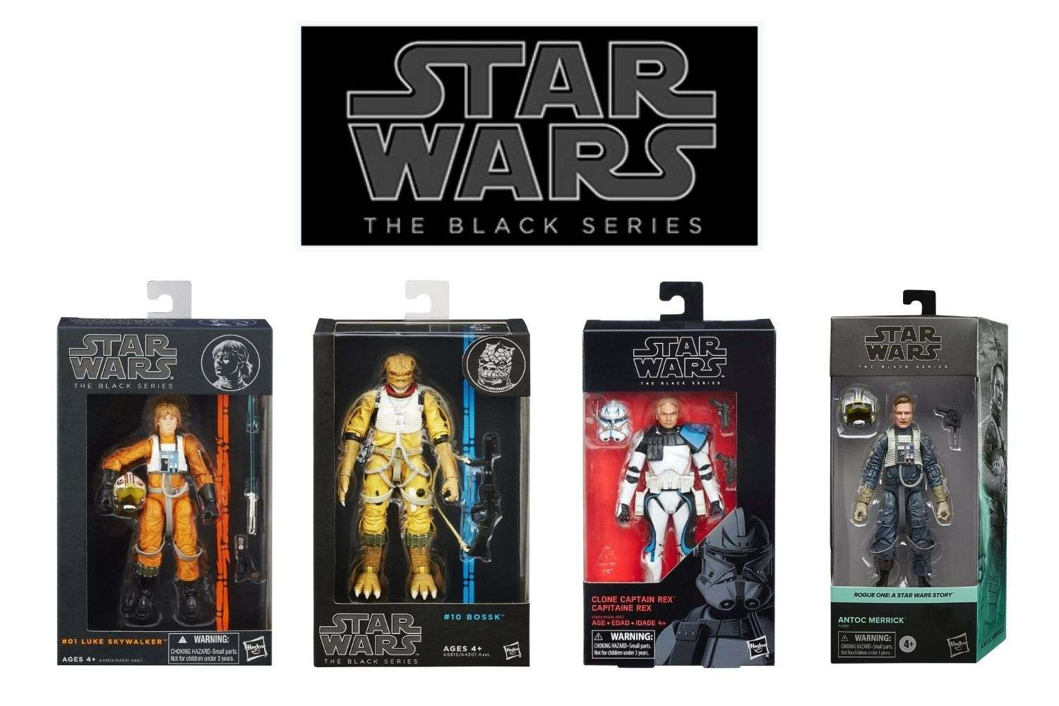 Star Wars The Black Series Visual Guide and Checklist