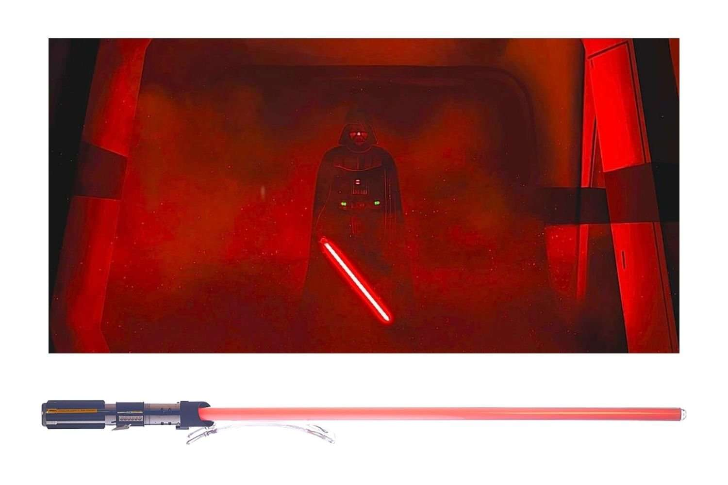 Red lightsabers meaning and history