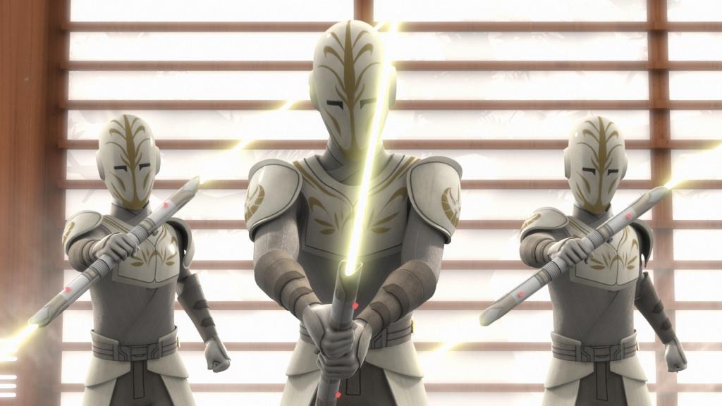 Jedi Temple Guard yellow lightsaber