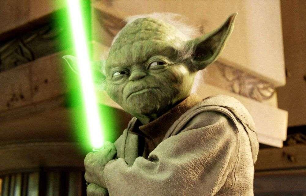 Yoda green lightsaber